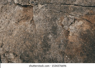 Beautiful rough rock texture Outcrop texture background. Rock as a background.