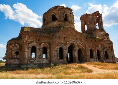 Beautiful ruined Orhtodox cathedral