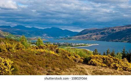 beautiful rural scenery in the heart of Scotland