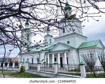 Beautiful Russian Church somewhere in the heartland of Russia.