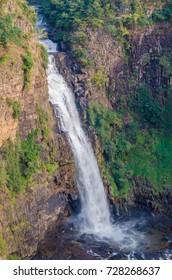 Beautiful Sala water falls near Labe in the Fouta Djalon region of Guinea, West Africa