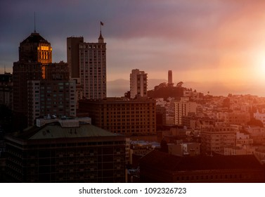 Beautiful San Francisco Sunset