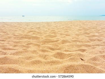 beautiful sand beach