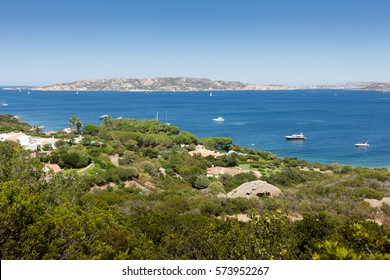 Beautiful Sardinia landscape in Porto Pollo