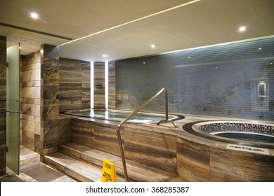 Beautiful sauna/SPA center.