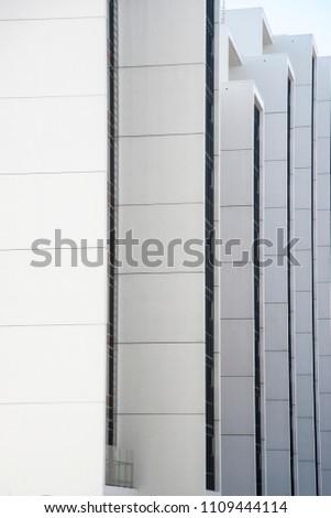 Beautiful Scandinavian Architecture Aarhus Denmark Simple Stock