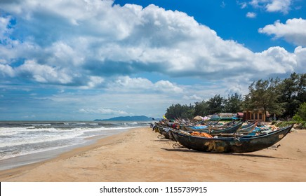 Beautiful scene and famous place at Ho Coc Beach, Ba Ria Vung Tau Province, Vietnam.