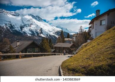 Beautiful scenerio with Swiss Alps - Shutterstock ID 1403883869