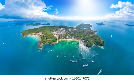 Beautiful Scenery of Hon Thom Island, An Thoi Archipelago, Phu Quoc, Reached by the Longest Non-stop Three-way Sea-Crossing Cable Car in the World, Vietnam, Southeast Asia.