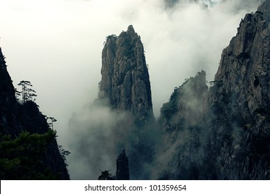 Beautiful Scenery of Mount Huang in China