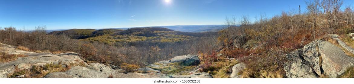 Beautiful scenery on top of Mount Beacon.