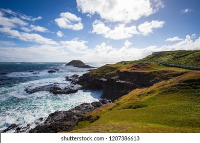 Beautiful scenes in Philip Island, Victoria, a popular day trip from Melbourne, lies just off Australia's southern coast