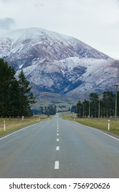beautiful scenic of mountain in arthur�s pass national park most popular travleing destination in southland new zealand