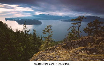 The beautiful scenic scapes of Bowen Island in Howe Sound and the heart of the Salish Sea with landscapes, waterscapes, and sunsets.  Gorgeous Vancouver area.
