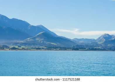 Beautiful scenic view of Kaikoura in south island,New Zealand.