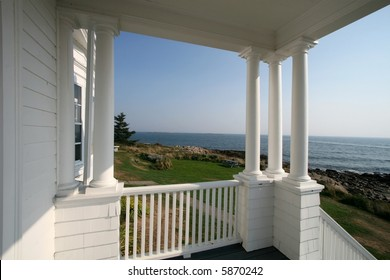 beautiful scenic view from porch