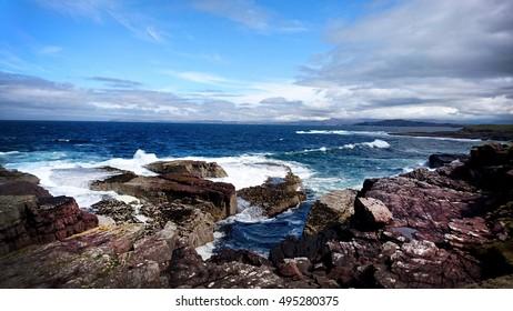 Beautiful Scottish Highlands landscape, Scotland Sea, Coastline, Nature, Wildlife