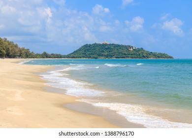 Beautiful sea at Baan Grood Beach, Bang Saphan, Prachuap Khiri Khan