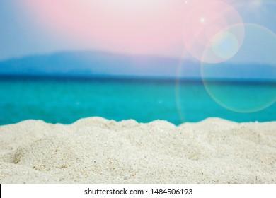 Beautiful sea of Greece at the coast