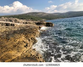 Beautiful sea Montenegro