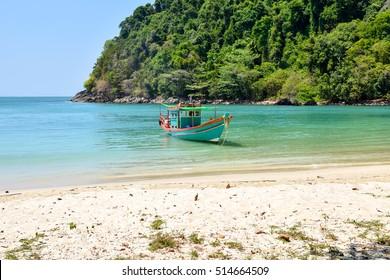 Beautiful sea Ranongs Thailand