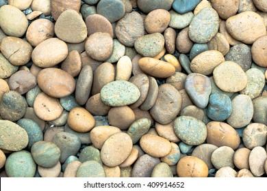 beautiful sea stone background.
