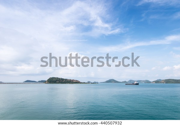 the beautiful sea in Thailand