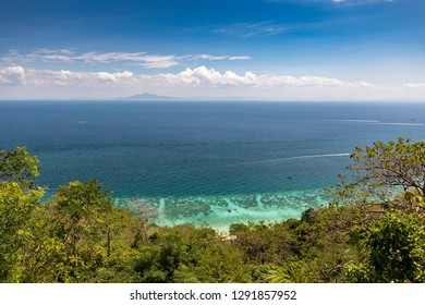 Beautiful sea view in Thailand