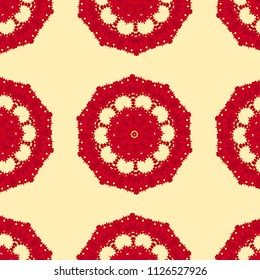 Beautiful seamless pattern for wallpaper, backgrounds and fabrics
