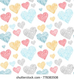 Beautiful seamless patterns ready for valentine's day