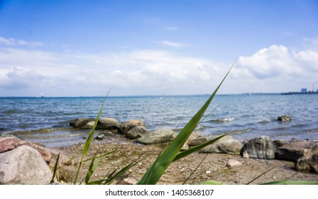 Beautiful Seascape Horizon of the Sea Travel Germany Wismar