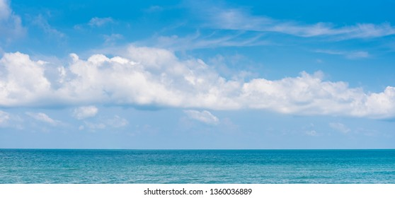 beautiful seascape panorama. Composition of nature - Image