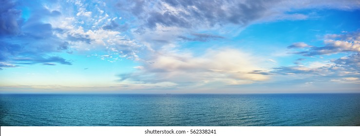 beautiful seascape panorama. Composition of nature - Shutterstock ID 562338241