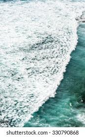 Beautiful seascape wave pattern.