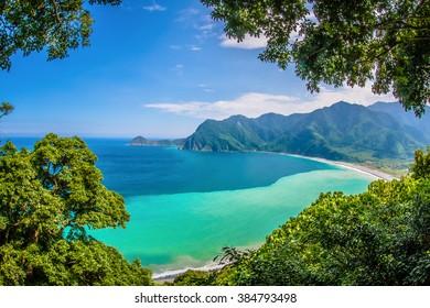 Beautiful seaside of East Taiwan
