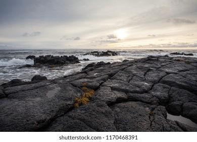Beautiful seaside in Iceland