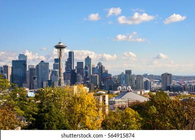 The Beautiful Seattle Skyline