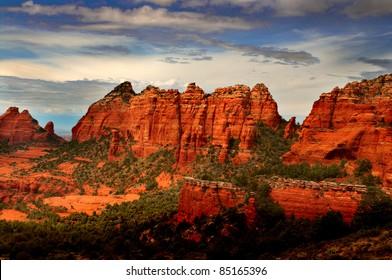 Beautiful Sedona Arizona during sunset