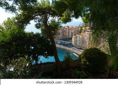 beautiful see through on port de fontvieille in Monaco