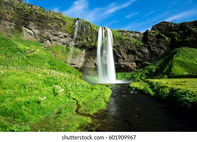 The Beautiful Seljalandsfoss Waterfalls of South Iceland