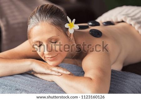 Blonde mature massage