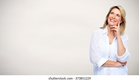 Beautiful senior woman portrait.