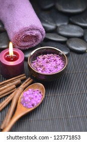 beautiful set for spa and aromatherapy