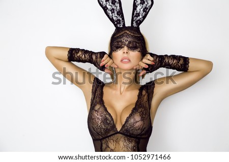 lingerie bunny Easter sexy