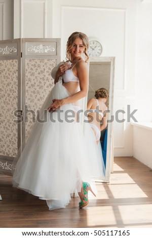 Sexy bride underwear