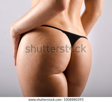 Beautiful Butts In Thongs