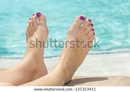 Sexy feet nail
