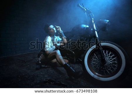 Suggest Sexy girl bicycle clothes