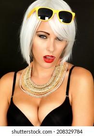 Beautiful Sexy Pin Up Woman