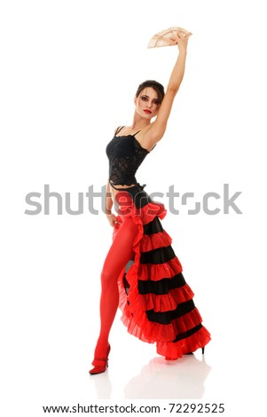 f681c0bc27f0 Beautiful Sexy Young Expressive Woman Dancing Stock Photo (Edit Now ...